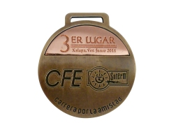 MEDALLA CFE BRONCE