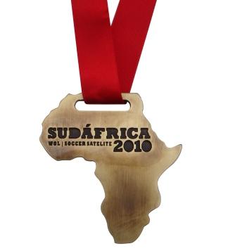 MEDALLA SUDAFRICA 2010