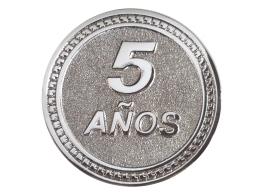 moneda 5 años