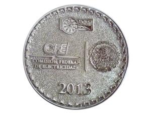 moneda CFE 2