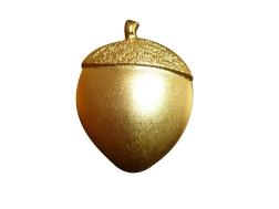 Pin 3D, acabado dorado mate